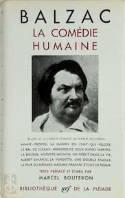 La Comédie Humaine - Tome I - Honoré de Balzac