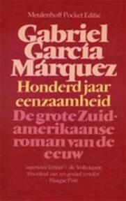 Honderd jaar eenzaamheid - Gabriel Garcia Marquez, C. A. G. van den Broek (ISBN 9789029010788)