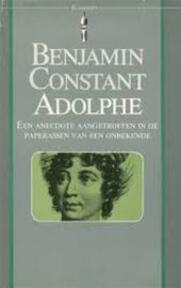 Adolphe - Benjamin Constant, George Pape, Cees van der Zalm (ISBN 9789027491084)