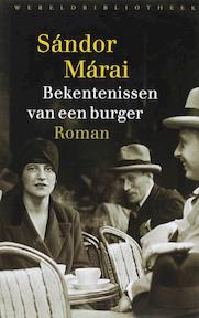 Bekentenissen van een burger - Sandor Marai (ISBN 9789028422087)
