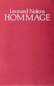Hommage - Leonard Nolens (ISBN 9789022308301)