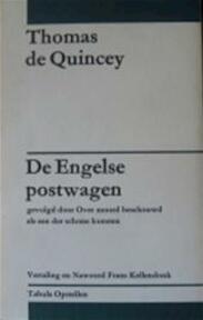 Engelse postwagen over moord beschouwd - Quincey (ISBN 9789070585150)