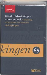 Groot Uitdrukkingen woordenboek - H. de Groot (ISBN 9789066483170)