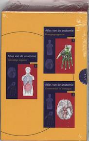 Sesam Atlas van de Anatomie set 3 delen - Platzer (ISBN 9789055745579)