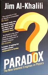 Paradox - Jim AlKhalili (ISBN 9780552778060)