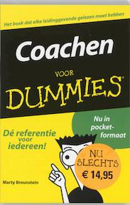 Coachen voor Dummies - M. Brounstein (ISBN 9789043011150)