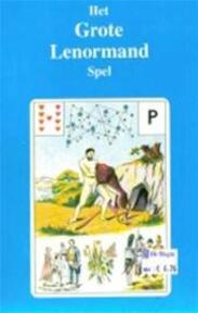 Het grote Lenormand spel - Erna Droesbeke (ISBN 9789064580482)