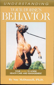 Understanding Your Horse's Behavior - Sue M. McDonnell (ISBN 9781581501285)