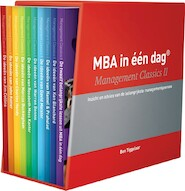 MBA in één dag - Management Classics II - Ben Tiggelaar (ISBN 9789079445752)