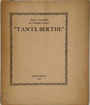 Tante Berthe - Paul Valéry