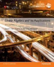 Linear Algebra and Its Applications - David C. Lay, Steven R. Lay, Judith McDonald (ISBN 9781292092232)