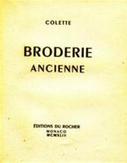 Broderies Ancienne - Colette