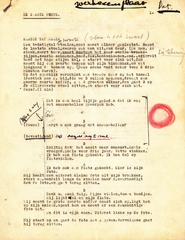 Patrick Conrad - De zwarte fiets + Handschrift Jef Geeraerts - Patrick Conrad / Jef Geeraerts