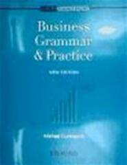Business grammar & practice - M. Duckworth (ISBN 9780194570794)