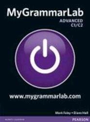 MyGrammarLab Advanced without Key and MyLab Pack - Diane Hall (ISBN 9781408299128)