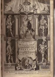 Cronyke van het leven en bedryff van alle de coningen van Engeland beginnende vande regeringe der Romeijne[n] totte regeringe van Carolus I - Richard Baker
