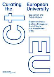 Curating the European University (ISBN 9789058678744)