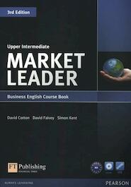 Market Leader Upper Intermediate Coursebook (with DVD-ROM incl. Class Audio) - David Cotton (ISBN 9781408237090)
