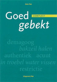 Goed gebekt - D. Pak (ISBN 9789077018194)