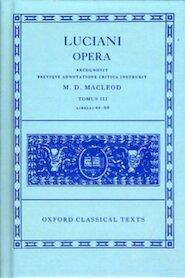 Opera - Lucianus (Samosatensis.) (ISBN 9780198145929)