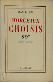 Morceaux Choisis - Max Jacob