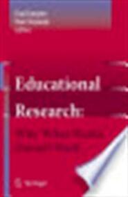 Educational research - Paul Smeyers, Marc Depaepe (ISBN 9781402053078)