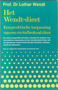 Wendt-dieet - Prof. Dr. Lothar Wendt (ISBN 9789060303771)