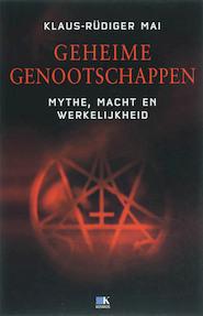 Geheime Genootschappen - K.-R. Mai (ISBN 9789021506869)