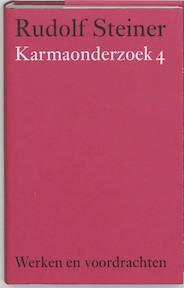 Karmaonderzoek 4 - Rudolf Steiner (ISBN 9789060385326)