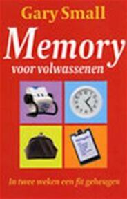 Memory voor volwassenen - Gary Small (ISBN 9789022540787)