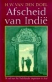 Afscheid van Indië - H. W. Van Den Doel (ISBN 9789053338889)
