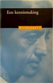 Een kennismaking - J. Krishnamurti (ISBN 9789062719365)