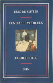Een tafel voor een - E. de Kuyper (ISBN 9789061683391)