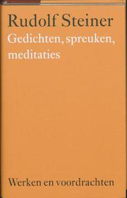 gedichten, spreuken, meditaties - Steiner (ISBN 9789060385043)