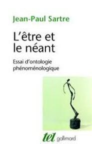 L' être et le néant - Jean-Paul Sartre (ISBN 9782070293889)