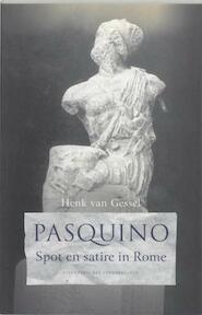 Pasquino - H. van Gessel (ISBN 9789059371231)