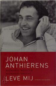 Niemands meester, niemands knecht - Johan Anthierens (ISBN 9789056175009)