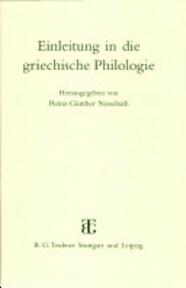 Einleitung in die griechische Philologie - Walter Ameling (ISBN 9783519074359)