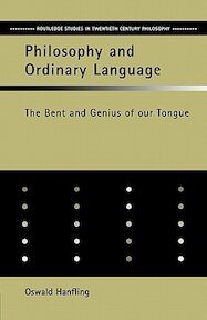 Philosophy and Ordinary Language - Oswald Hanfling (ISBN 9780415322775)