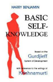 Basic Self-Knowledge - Harry Benjamin (ISBN 9780877281627)