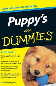 Puppy's voor Dummies - Sarah Hodgson (ISBN 9789043014595)