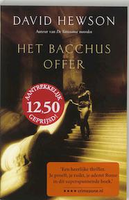 Het Bacchus offer - David Hewson (ISBN 9789026122408)