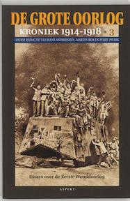 De grote oorlog - van Hans Andriessen (ISBN 9789059112179)