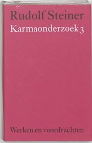 Karmaonderzoek 3 - Rudolf Steiner (ISBN 9789060385289)
