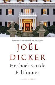 Het boek van de Baltimores - Joël Dicker (ISBN 9789023496113)