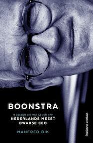Boonstra-midprice - Manfred Bik (ISBN 9789047010777)
