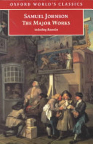 Sammlung - Samuel Johnson (ISBN 9780192840424)