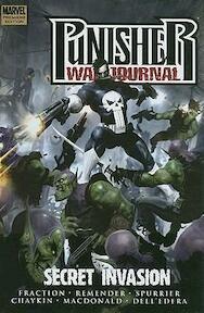 Punisher war journal: Secret Invasion - Fraction, Remender, Spurrier, Chaykin, Macdonald, Dell'Edera (ISBN 9780785131489)