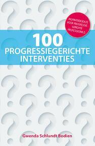 100 progressiegerichte interventies - Gwenda Schlundt Bodien (ISBN 9789079764051)