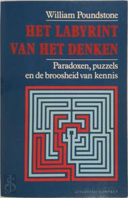 Het labyrint van het denken - William Poundstone, Patty Adelaar (ISBN 9789025467692)